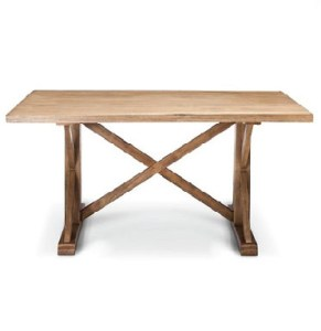 wood farmhouse table sweetheart dining
