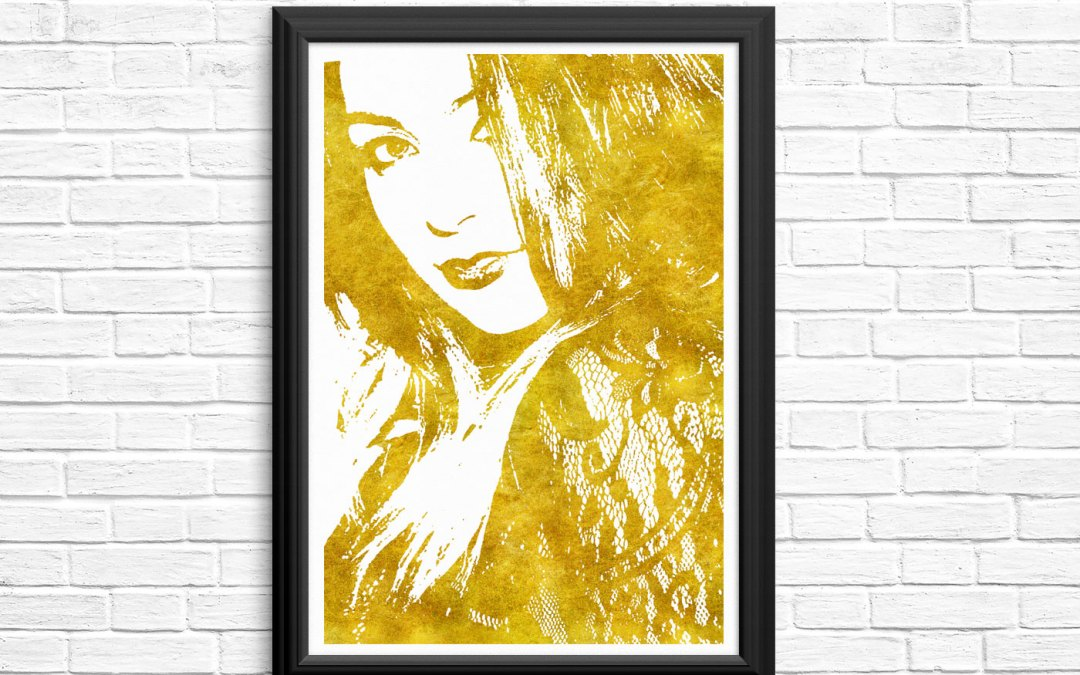 All That Glitters is Gold – Gold Foil Art by Steffany