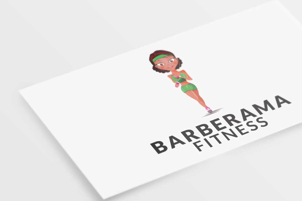 Logo design – Barberama Fitness
