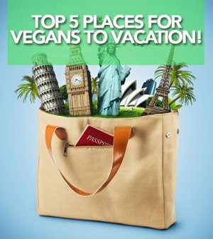 Top 5 Places for vegans to vacation