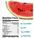 The nutritional Facts about watermelon
