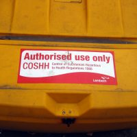COSHH_yellow_bin-lambeth