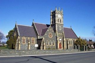 The Historic Blue Stone Westbury Catholic Church