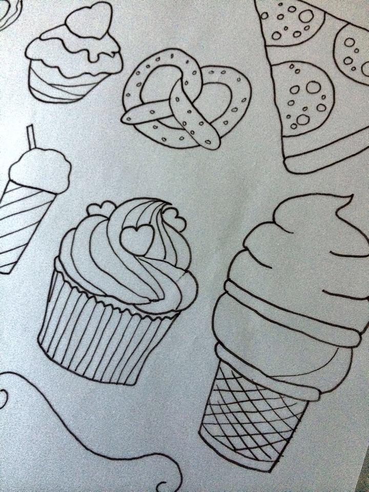 Desenho para estampa