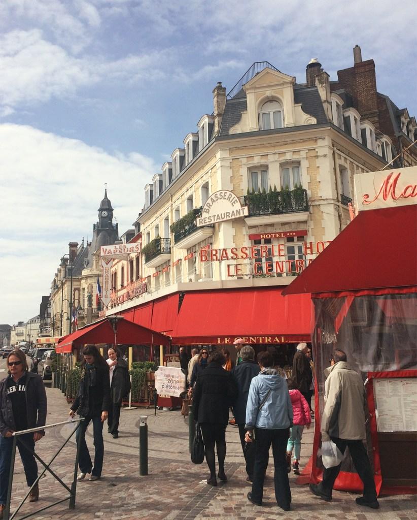 Boulevard Trouville Normandia