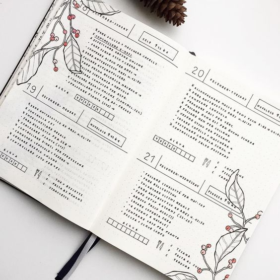 Daily Log - Bullet Journal