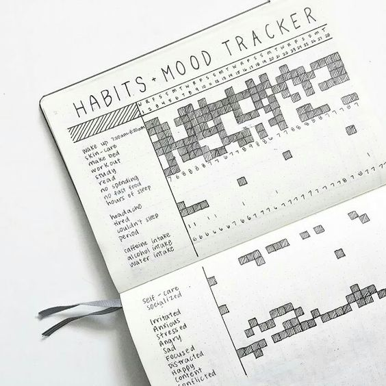 Habit Tracker - Bullet Journal