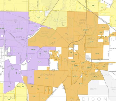 More than 3000 annexation records are maintained by the Franklin County Engineer's Office. The Franklin County Ohio Annexation Index map is frequently updated for planning and administrative purposes. The multi-layered PDF uses our current Road Map and Street Locator as the base map. For more information visit the Franklin County Engineer's Website
