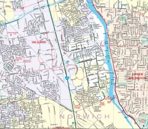 The Franklin County Ohio Road Map and Street Locator includes over 12,000 roads and more than 3,000 annexations. Our latest edition, produced from our GIS, was published in May of 2017. This edition of the map and the atlas are for free distribution. For more information visit the Franklin County Engineer's Website
