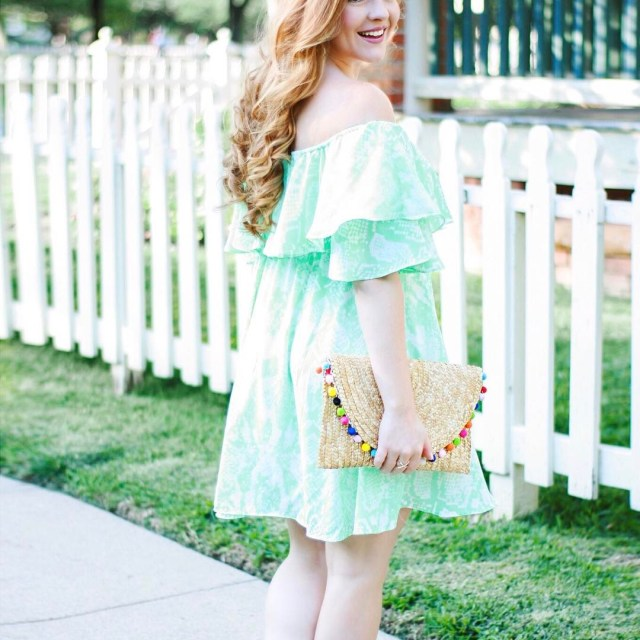 On the blog today is this beautiful snake print dresshellip