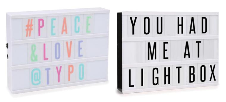 lightbox-typo