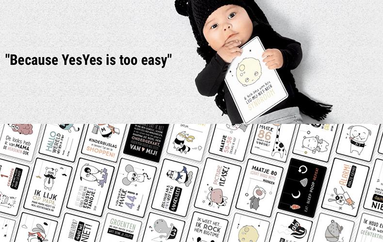 NoNo cards: milestones met een twist