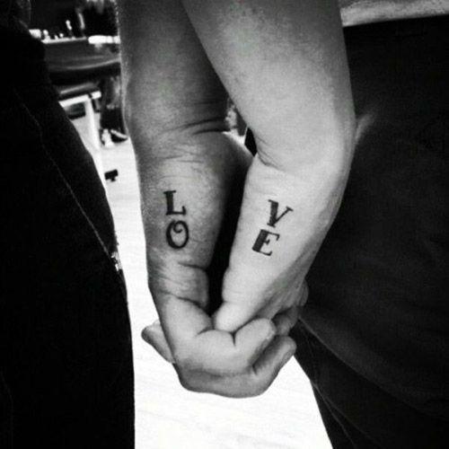 matching tattoo's
