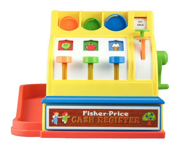 speelgoed klassiekers fisher price classics kassa
