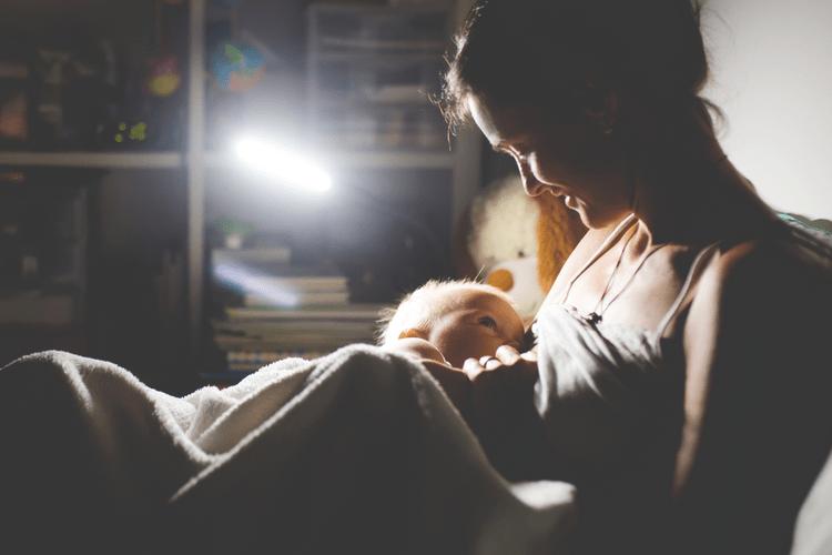 eerste nacht met je baby