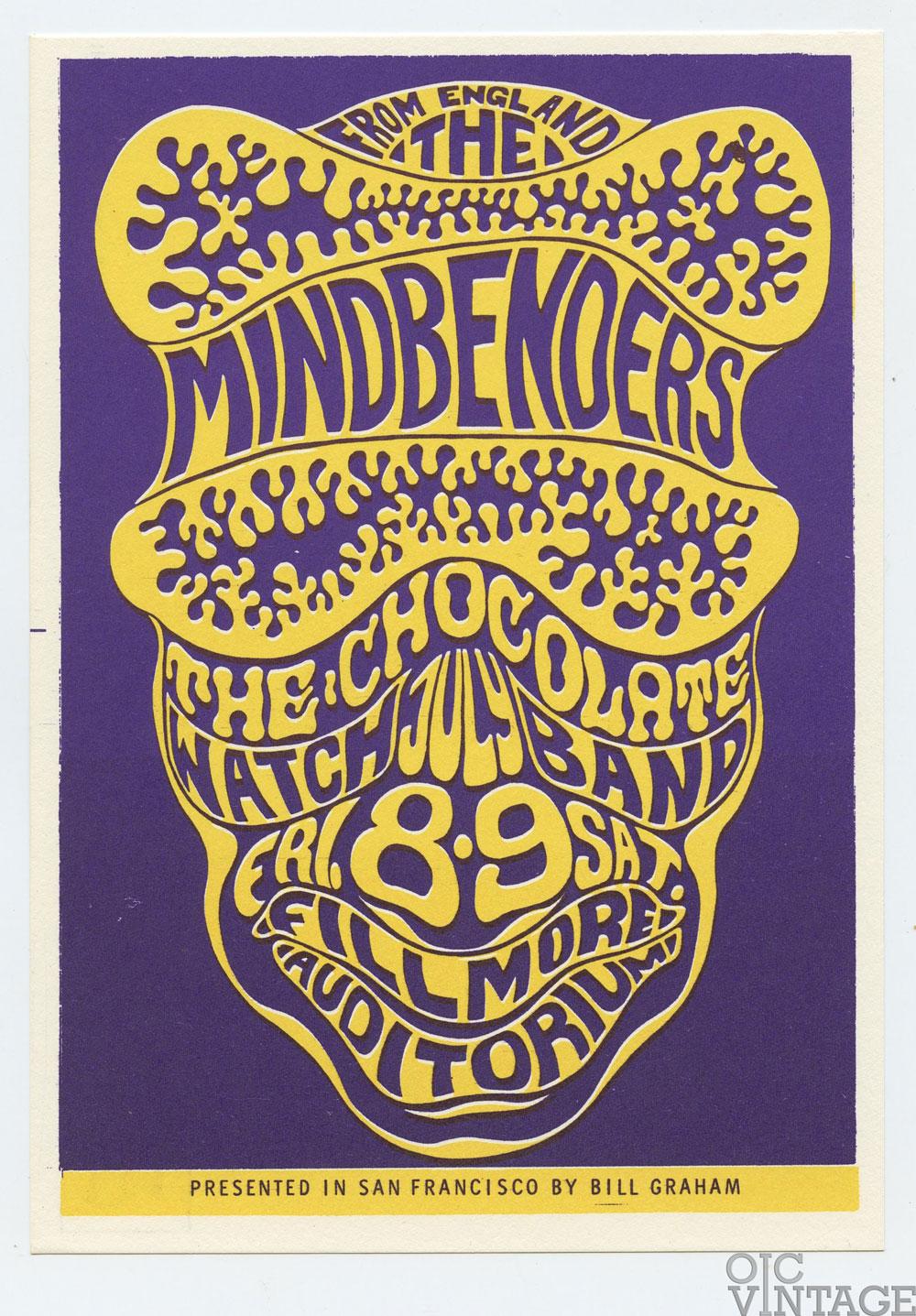 BG 16 Postcard Mindbenders 1966 Jul 8