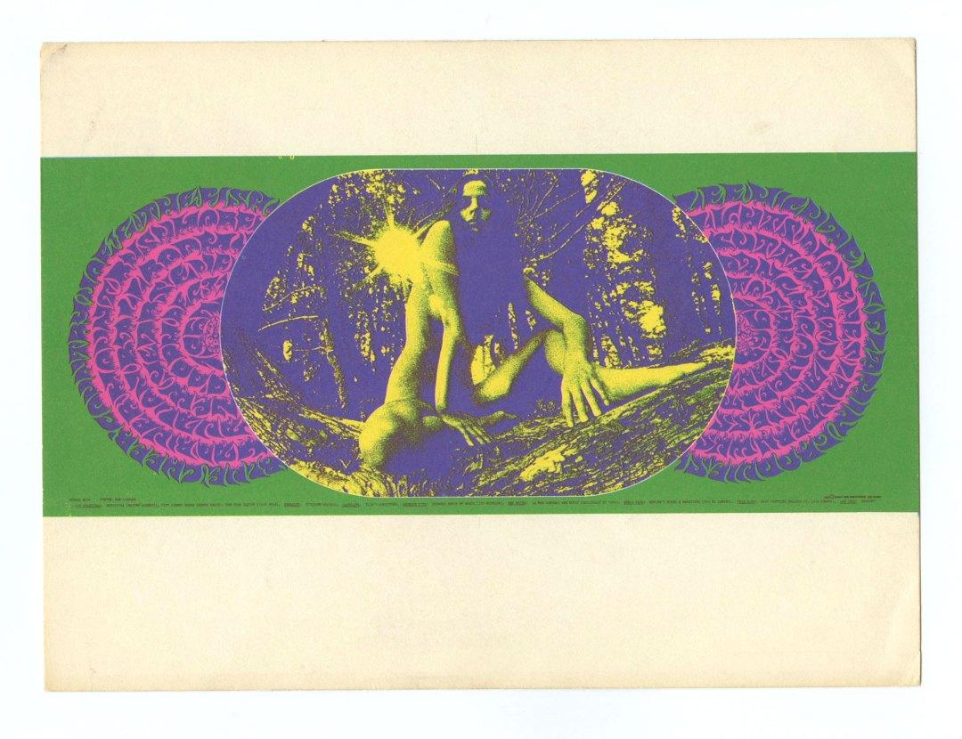 Family Dog 099 Postcard Sitting Pretty 1967 Dec 31 Blue Cheer Lee Michaels