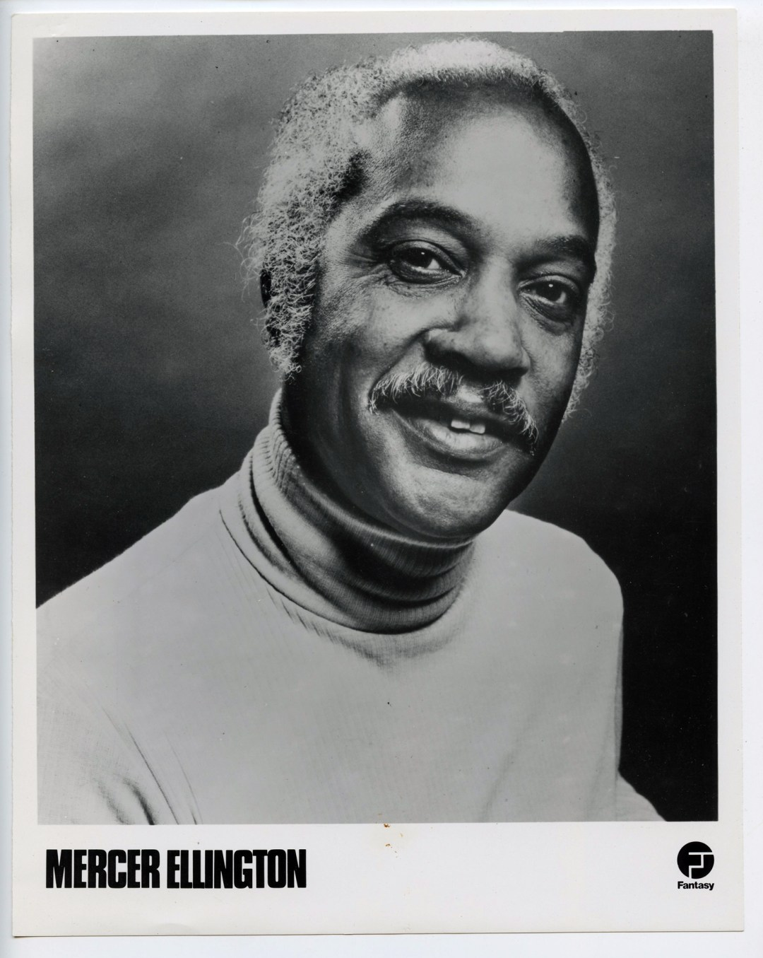 Mercer Ellington Photo Fantasy Records Original Vintage