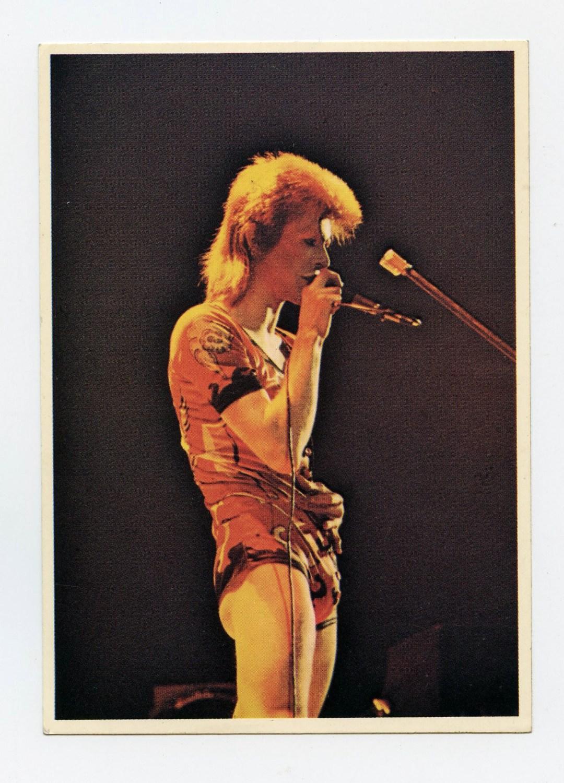 David Bowie Sticker 1974 Picture Pop 88