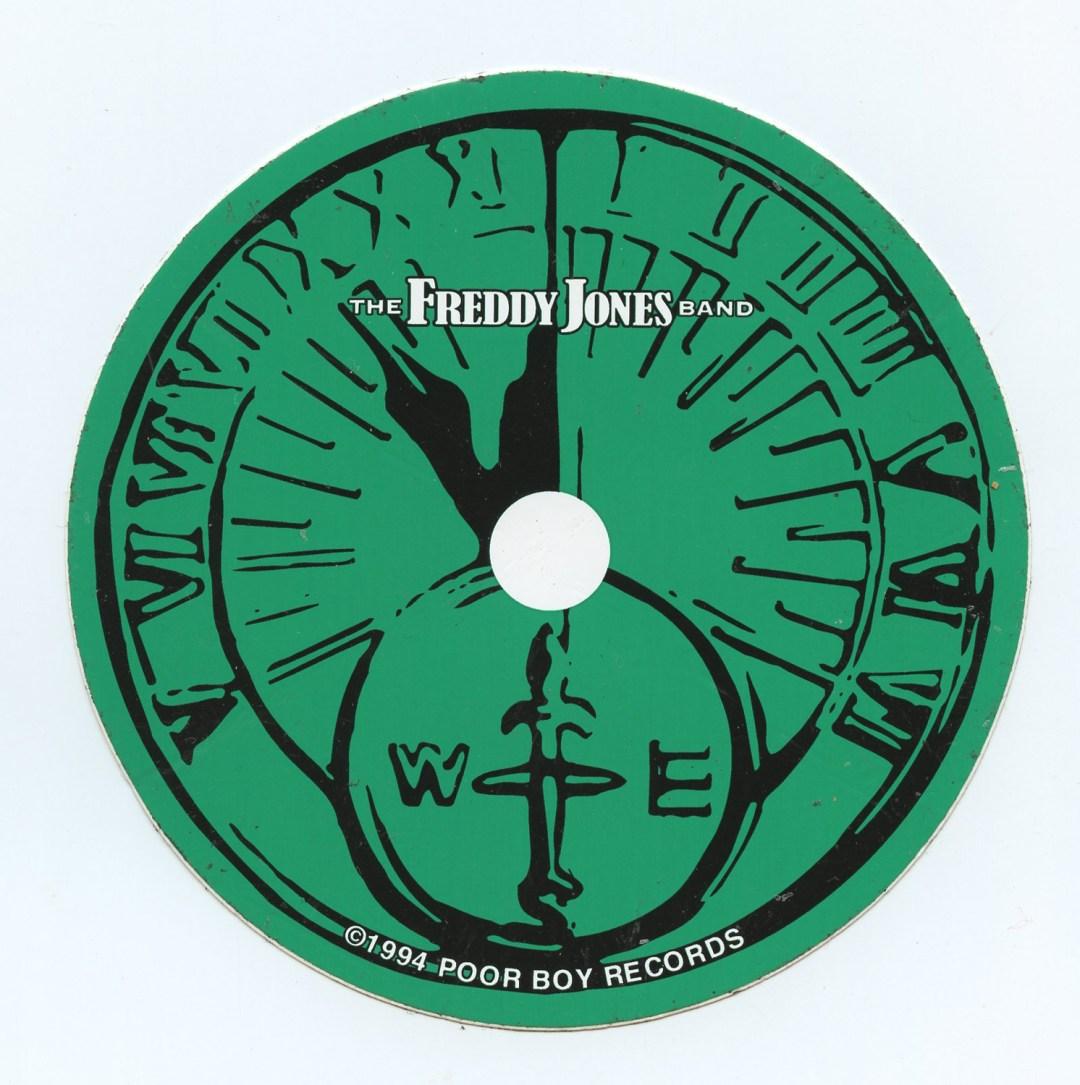 The Freddy Jones Band Sticker 1994 album Promo