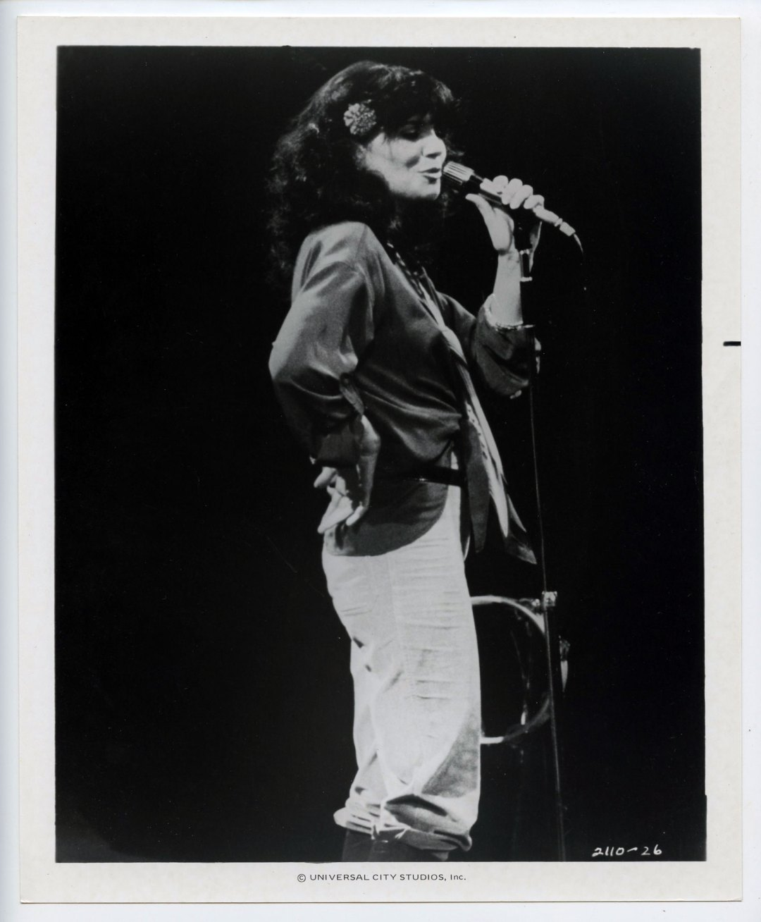 Linda Ronstadt Photo 1978 Movie FM Appearance Universal Studios Original Vintage