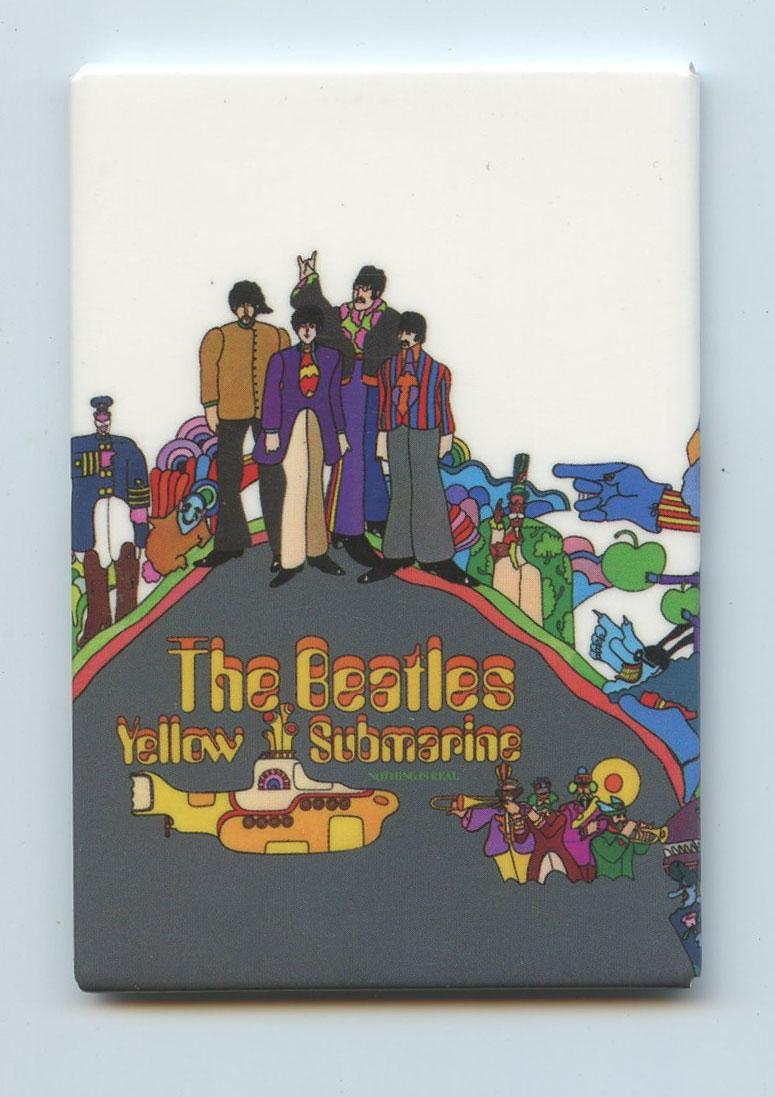 The Beatles Magnet Yellow Submarine