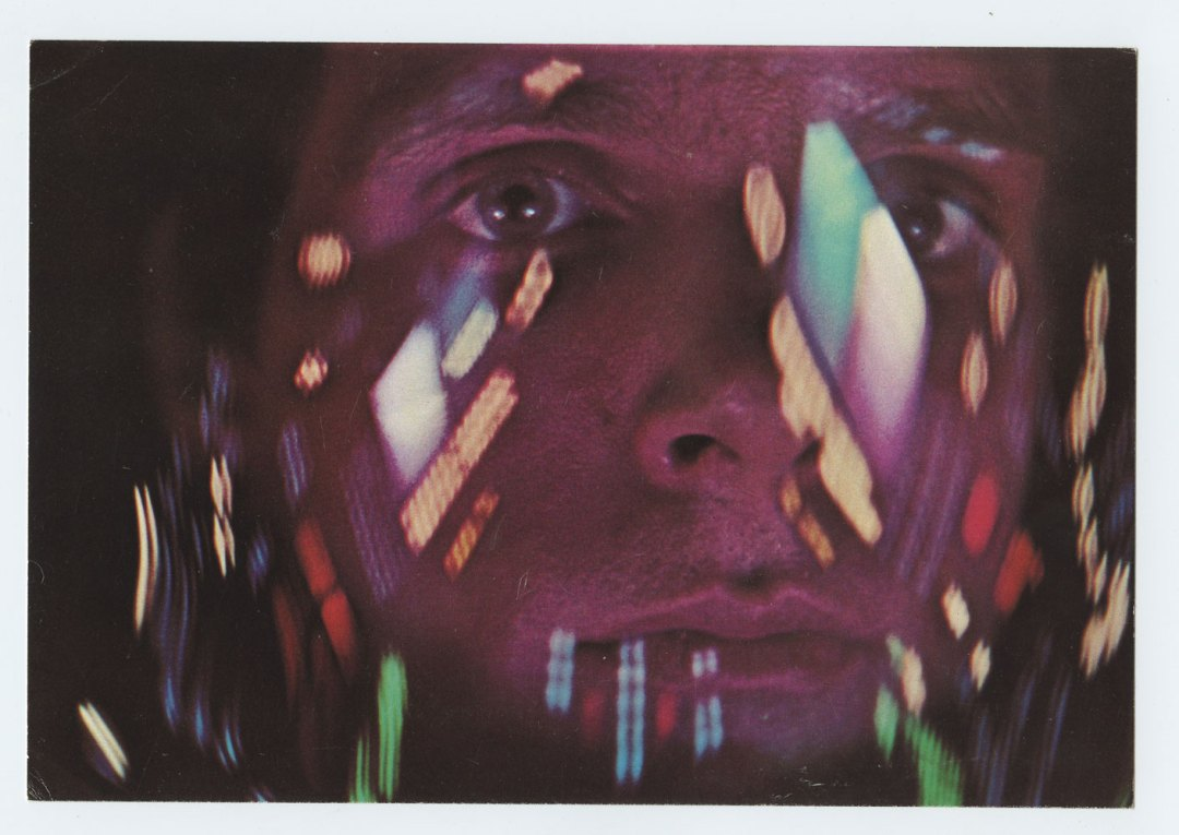 2001: A Space Odyssey Postcard Movie Promotion 1968