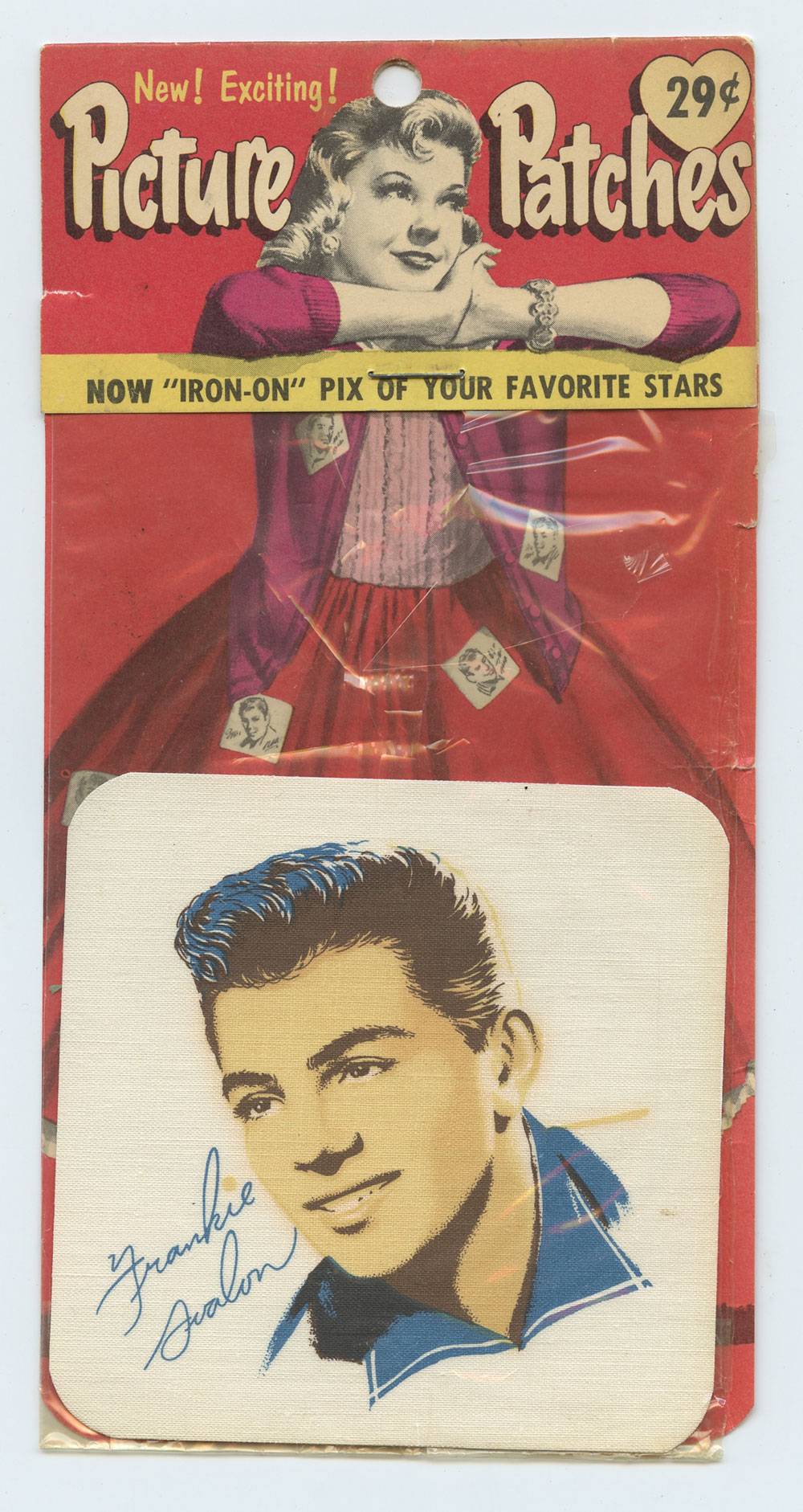 Frankie Avalon Picture Patch Vintage