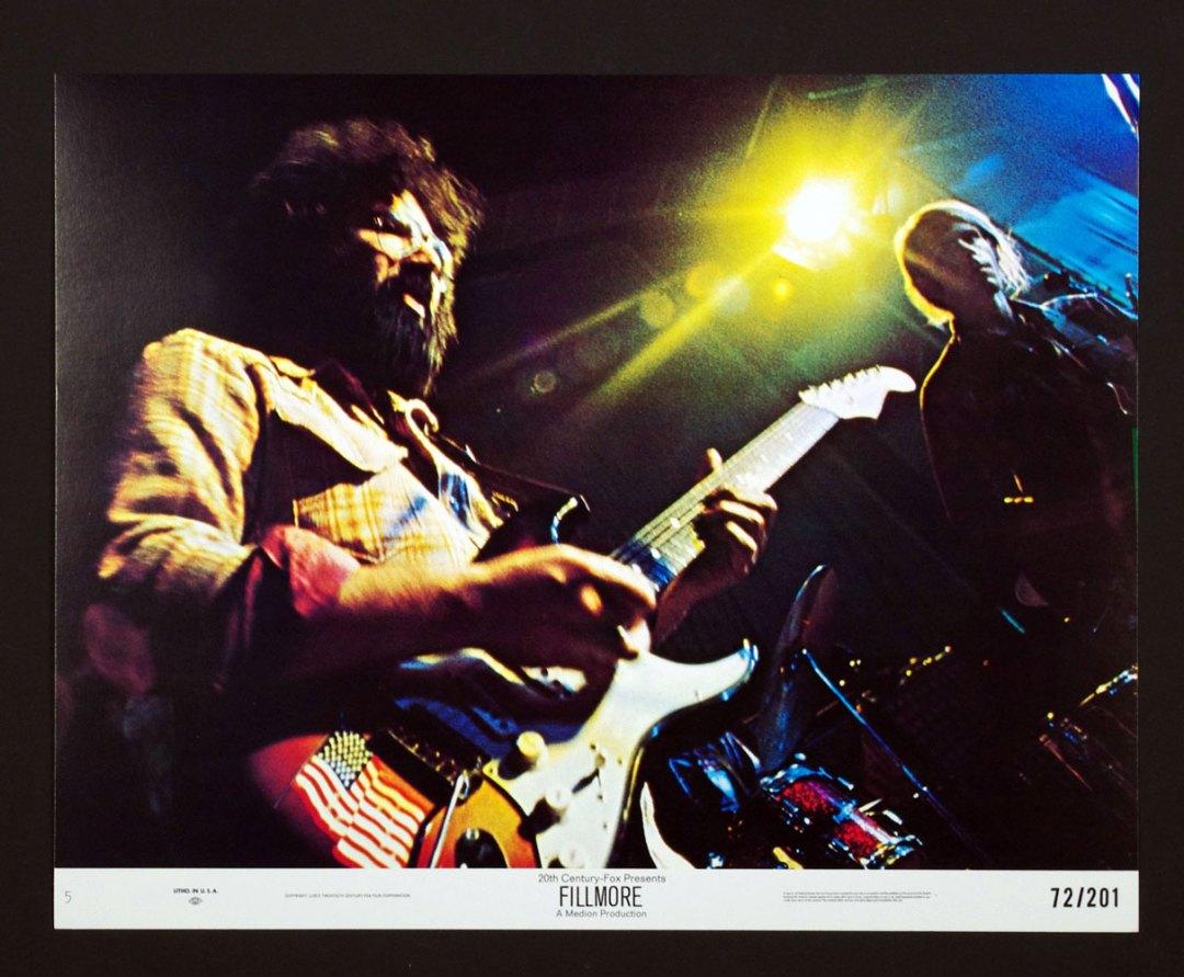 Last Days of Fillmore 1972 Bill Graham Grateful Dead Santana 11x14 Lobby Card Set of 8