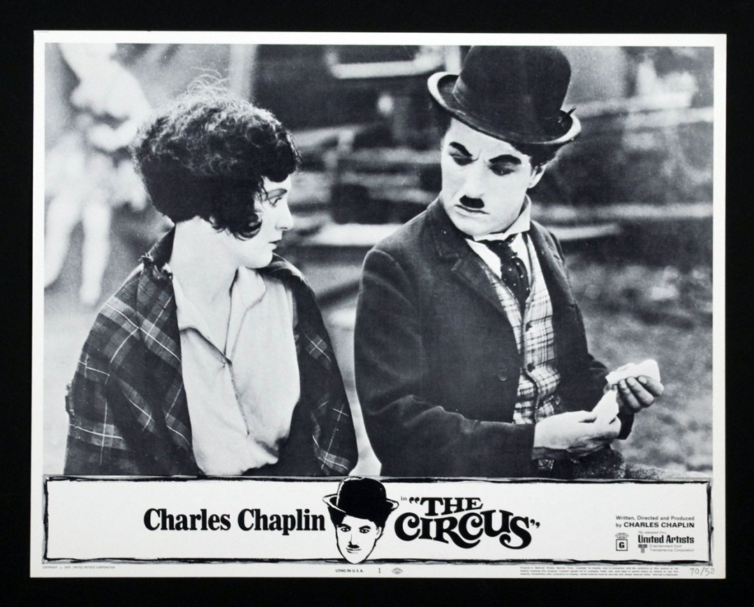 Charlie Chaplin The Circus 11x14 Lobby Card Set of 8