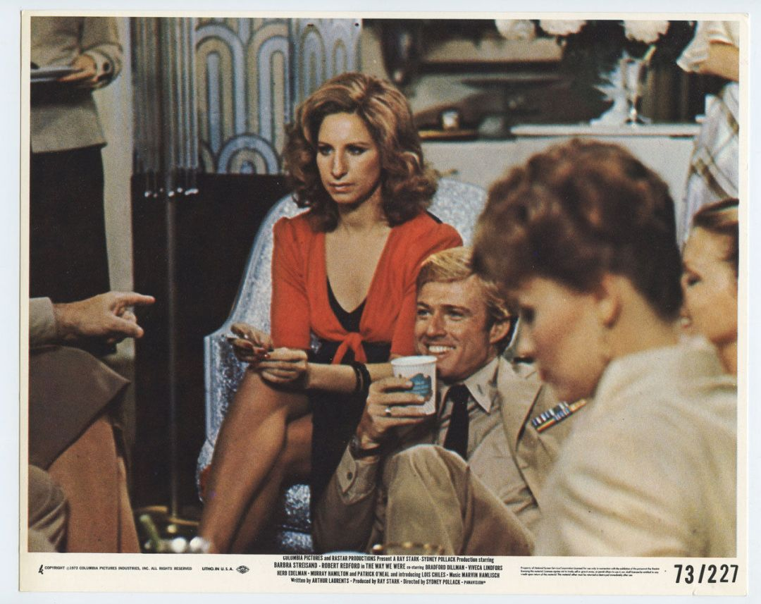 Barbra Streisand Robert Redford Photo 1973 The Way We Were