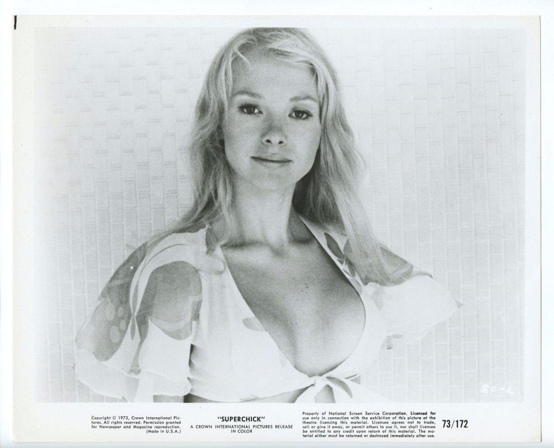 Joyce Jillson 1973 Superchick 8x10 B/W Lobby Card