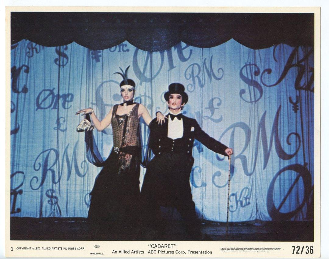 Liza Minnelli Michael York CABARET 1972 Lobby Card 8x10