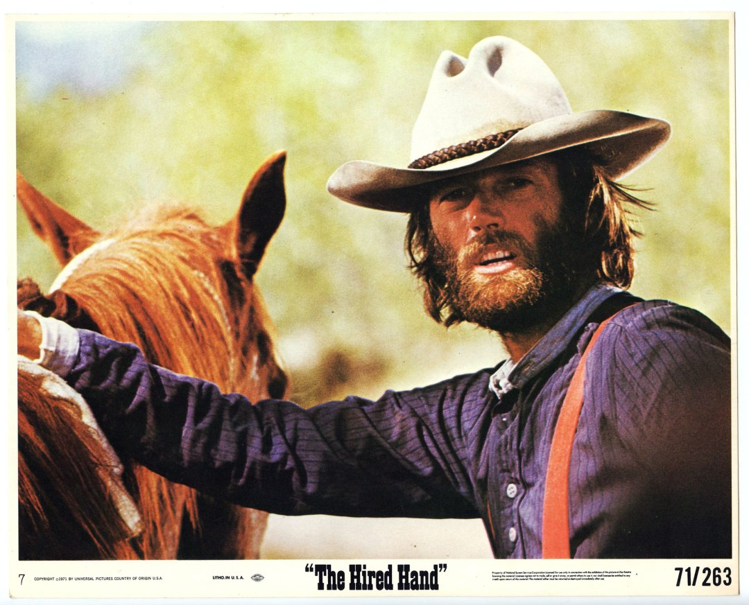 Peter Fonda 1971 The Hired Hand 8x10 Lobby Card