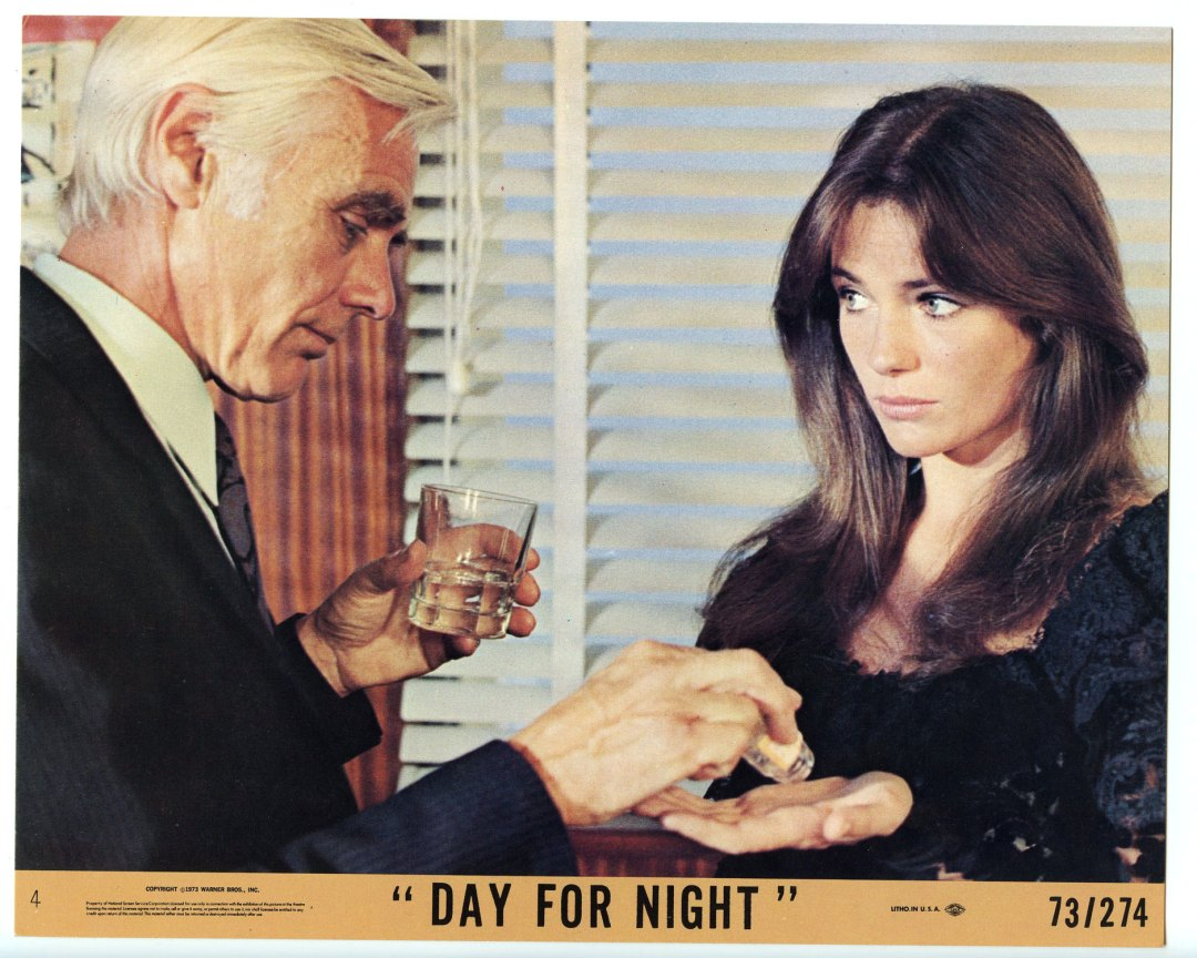 Day for Night Lobby Card set of 2 1973 Jacqueline Bisset