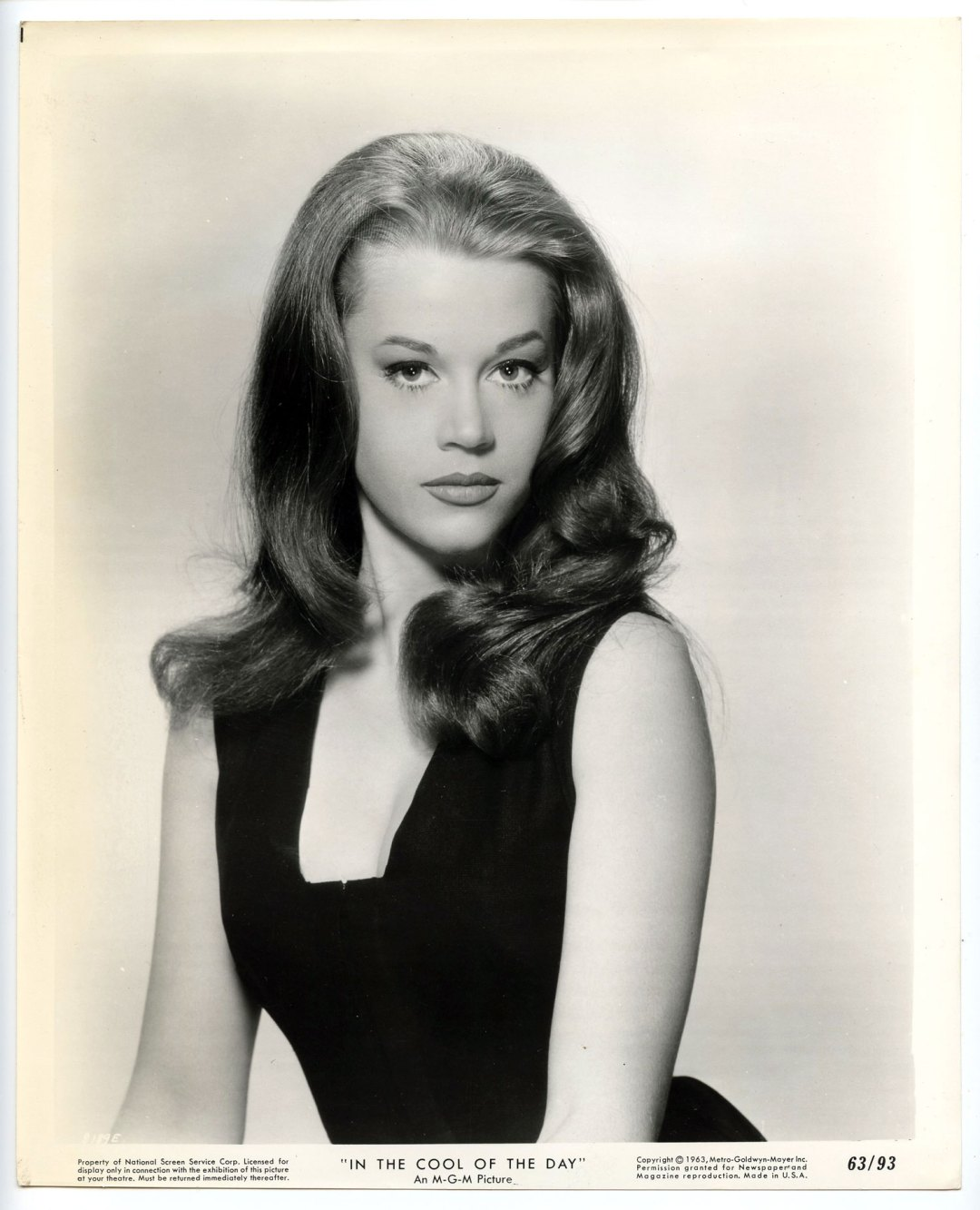 Jane Fonda 1963 In The Cool Of The Day 8x10 Lobby Card