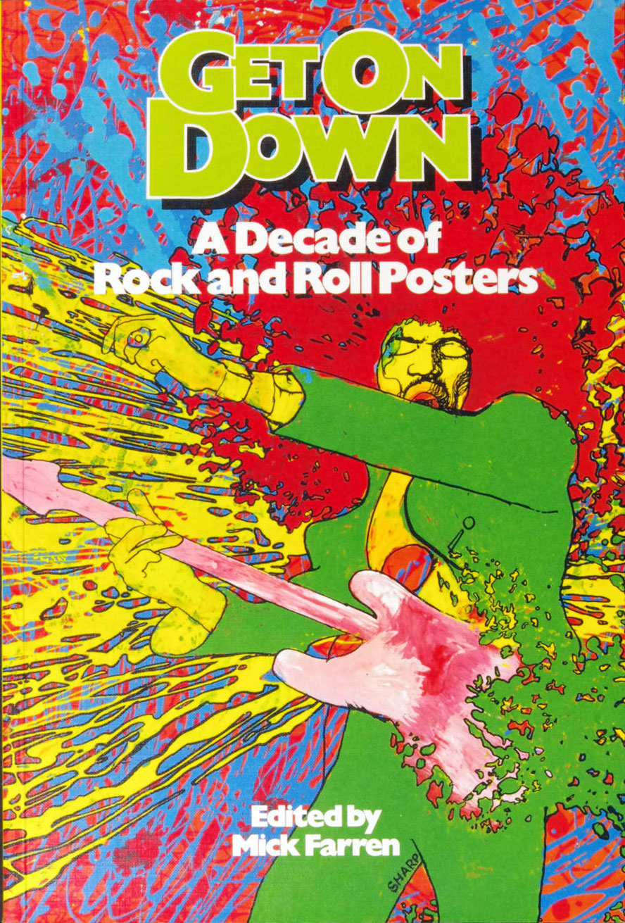 A Decade of Rock and Roll Posters Book Get On Down 1977 First Edition