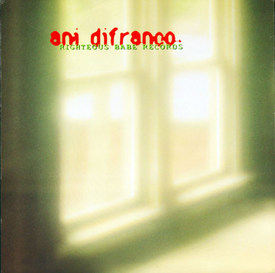 Ani Difranco Poster Flat to the teeth 12x12 2 sided