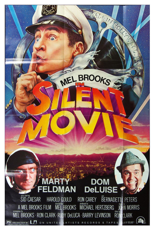 Mel Brooks Silent Movie Poster 1976 OST Album Promo 24 x 36