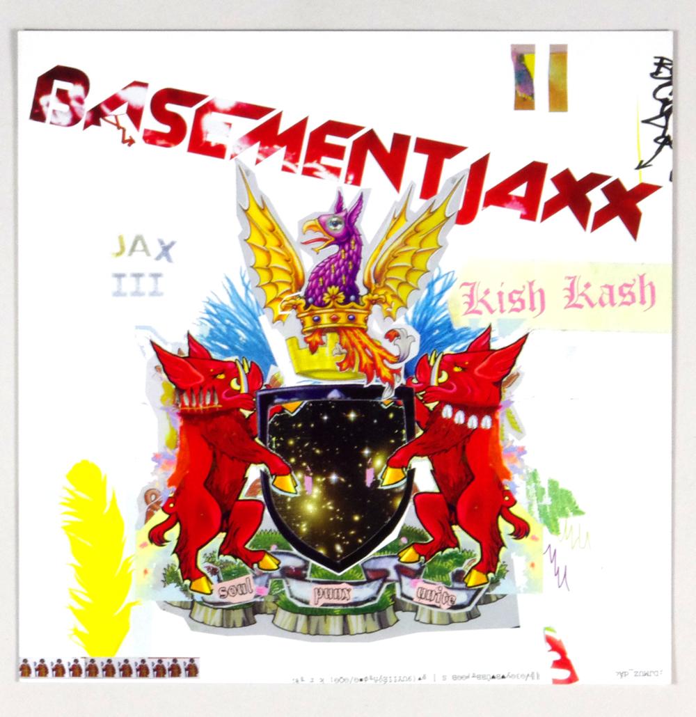 Basementjaxx Poster Flat 2003 Kish Kash Album Promo 12x12 2 sided