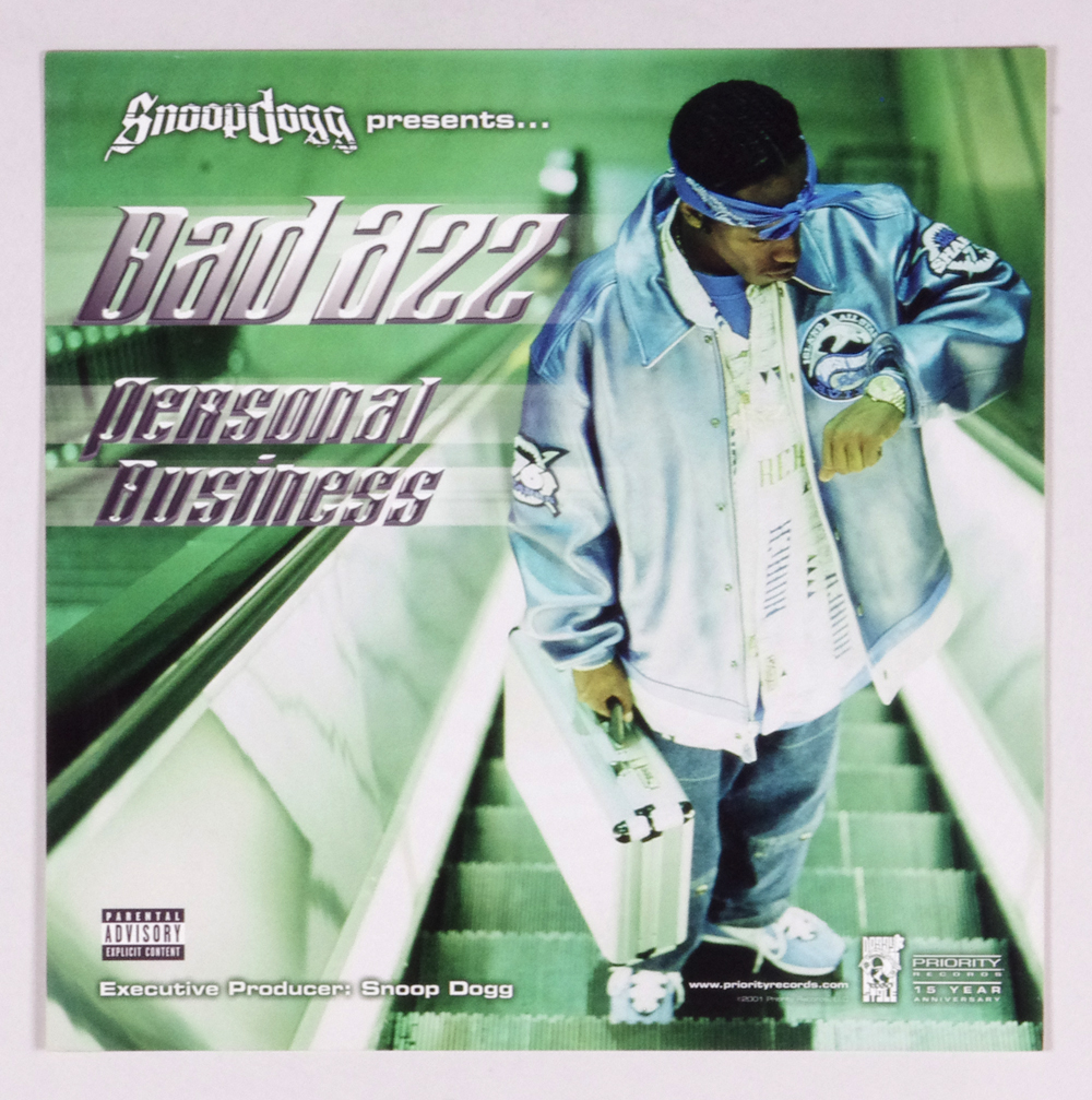 Bad Azz Poster Flat 2001 Personal Business Album Promo 12x12 2 sidedd