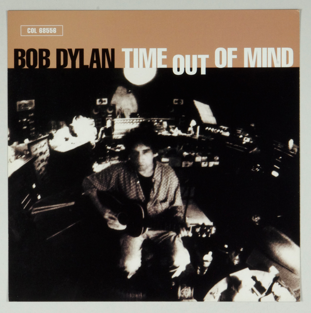 Bob Dylan Poster Flat 1997 Time Out Of Mind Album Promo 12x12 2 sided