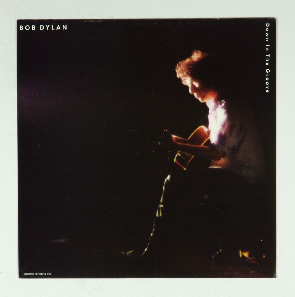 Bob Dylan Poster Flat 1988 Down In The Groove Album Promo 12x12 2 sided