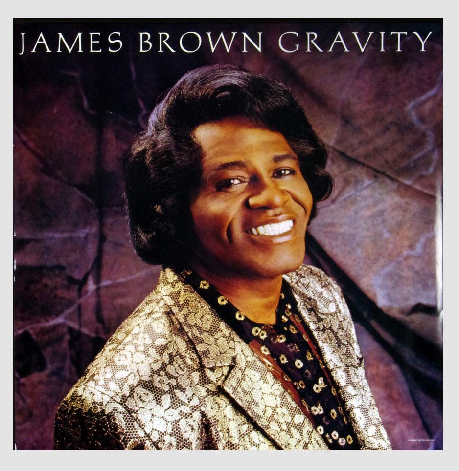 James Brown Poster 1986 Gravity Album Promo 23 x 23