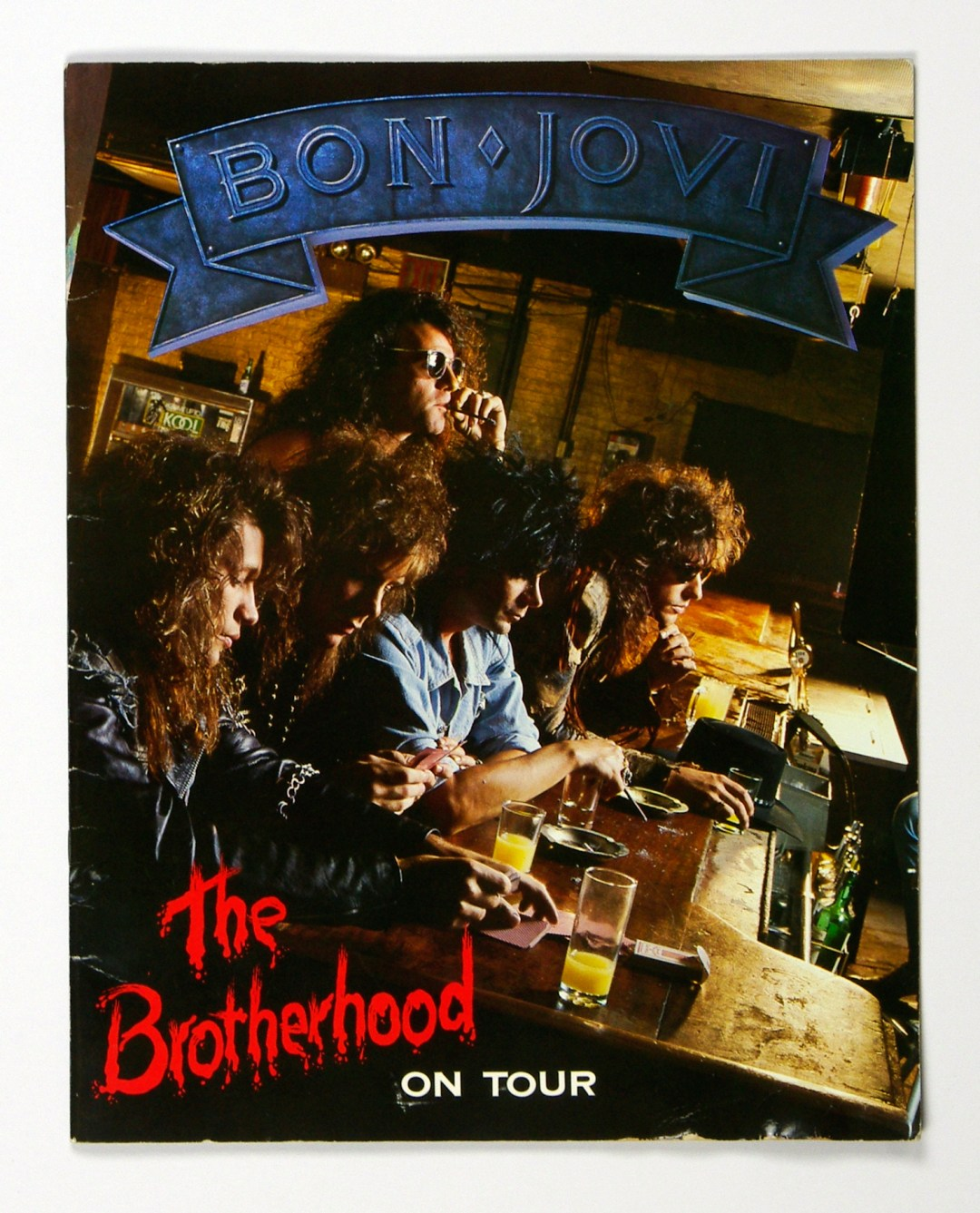 Bon Jovi The Brotherhood 1989 USA Tour Program USA Book