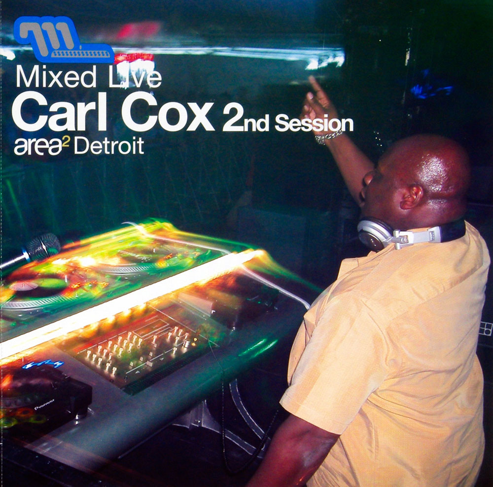 Carl Cox Poster Flat Mized Live 2nd Session 2002 Album Promo 12 x 12