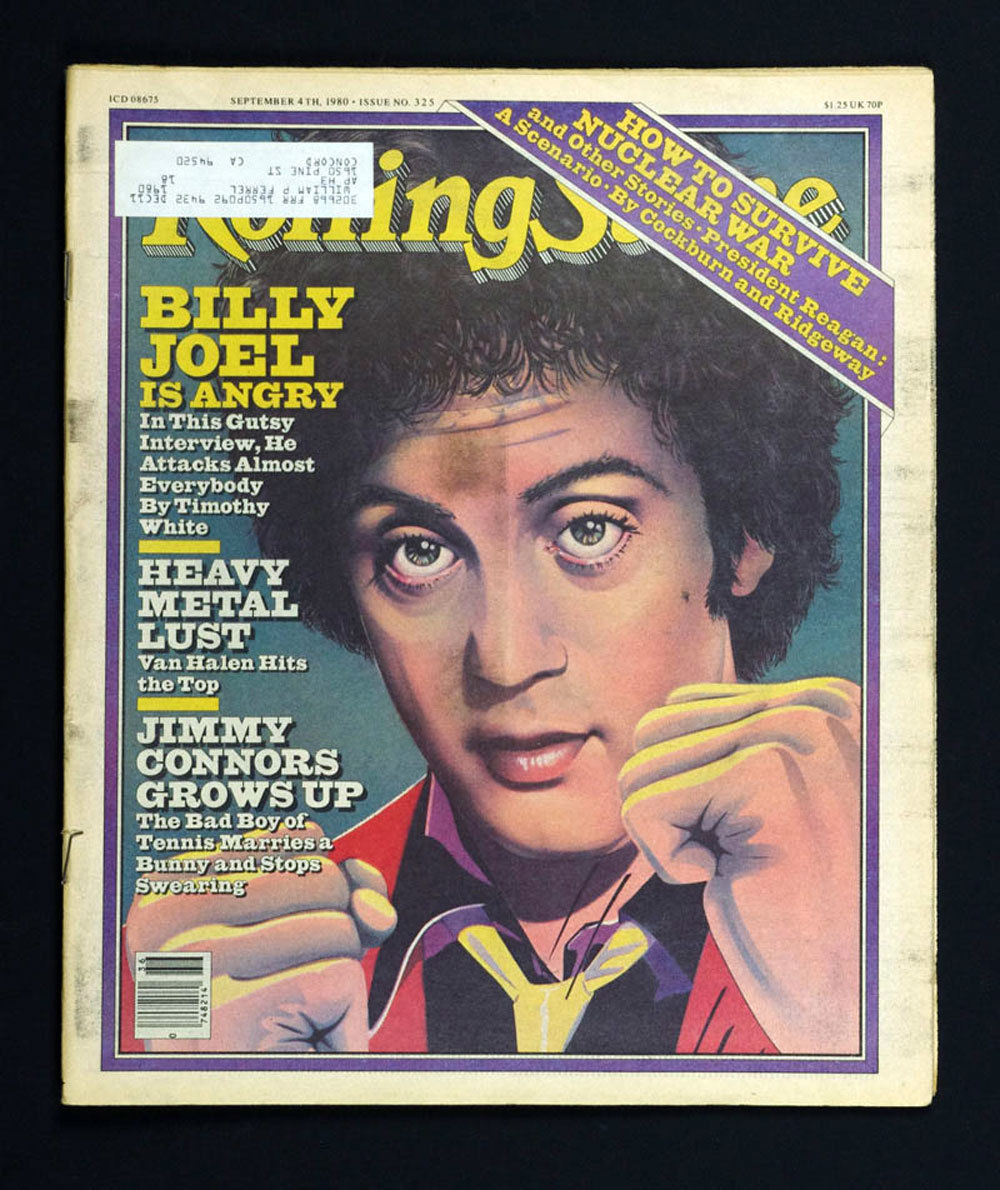 Rolling Stone Magazine 1980 Sep 4 No. 325 Billy Joel