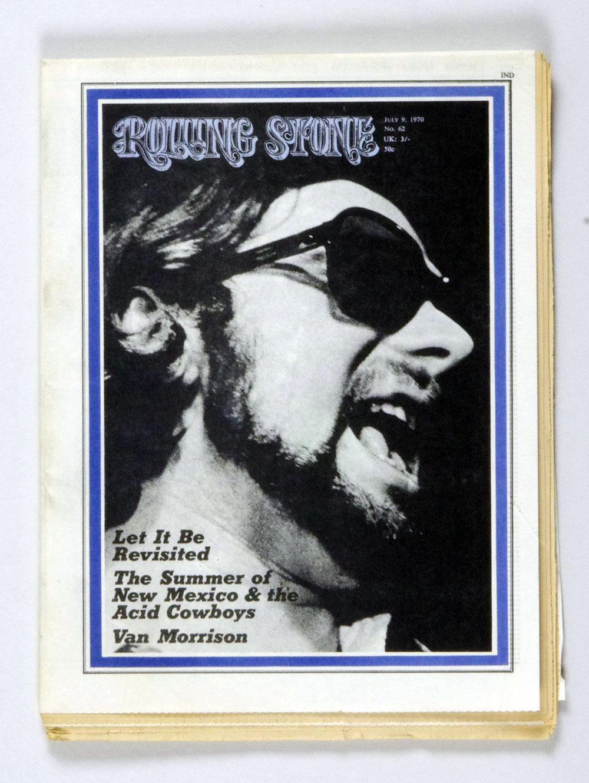 Rolling Stone Magazine 1970 Jul 9 No. 62 Van Morrison