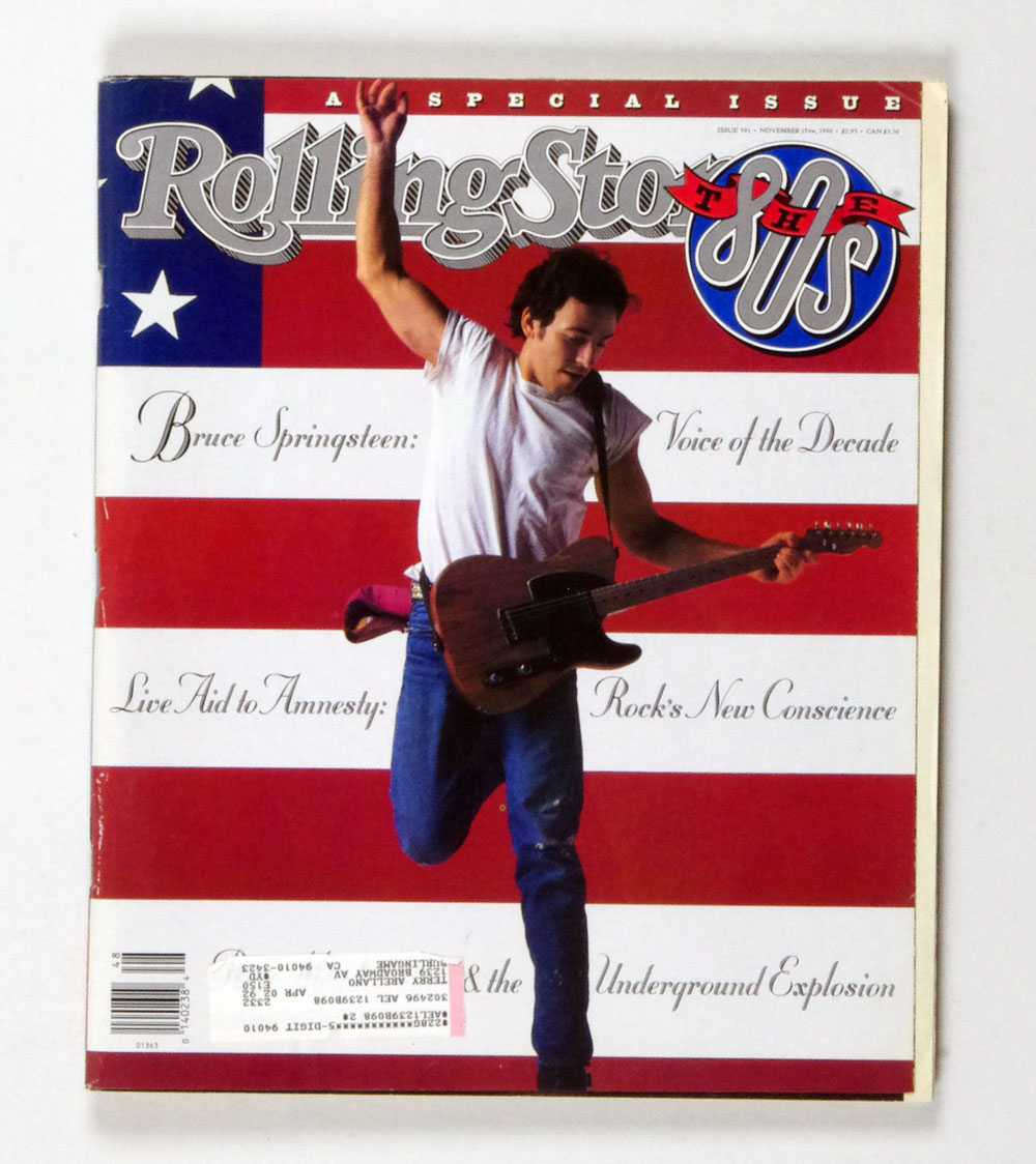 Rolling Stone Magazine 1990 Nov 15 No. 591 Bruce Springsteen
