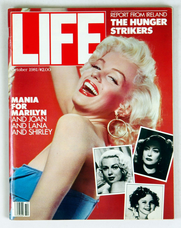 LIFE Magazine 1981 Oct 1 Marilyn Monroe